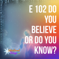 Intentional Beings - Do you believe or do you know?